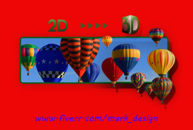 awesome 3d video from 2d image for