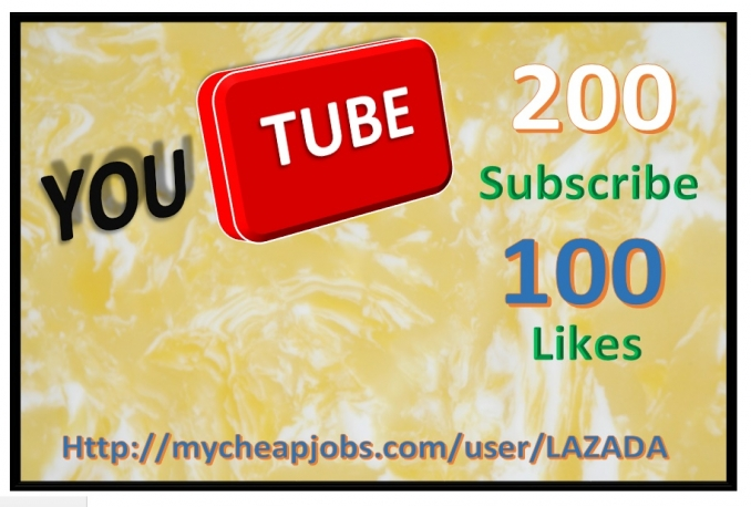 give you  1000 Views + 200 Youtube subscribers + 100 Youtube like