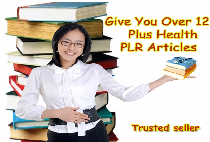 Give You Over 12,000 Plus Health PLR Articles