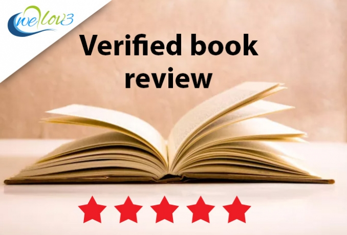 write a Verified Book Review for you