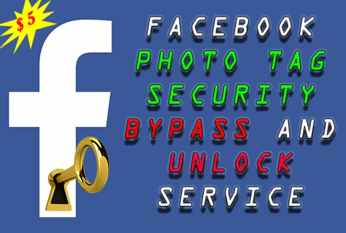 bypass photo tagging checkpoint and unlock facebook account for