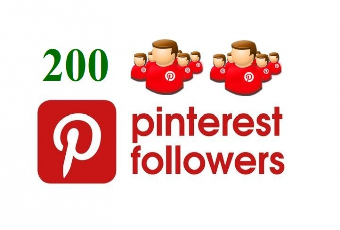 give you 200+ Safe Pinterest followers