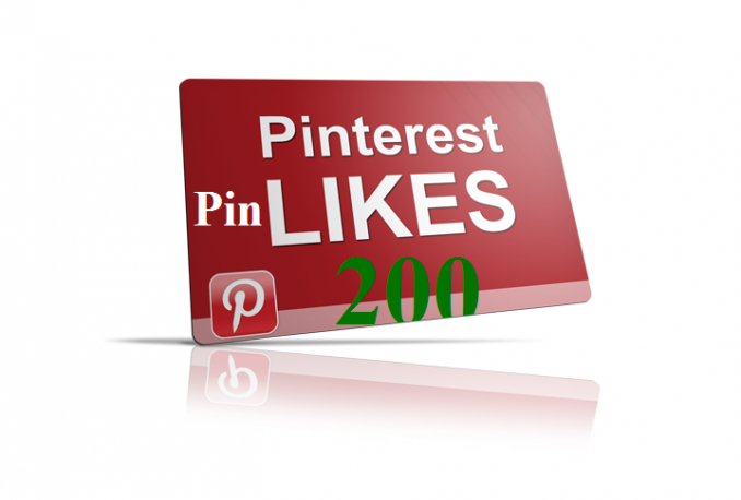 add 200 Pinterest Likes to your Pin