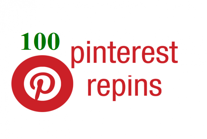 give you 100 Pinterest RePins