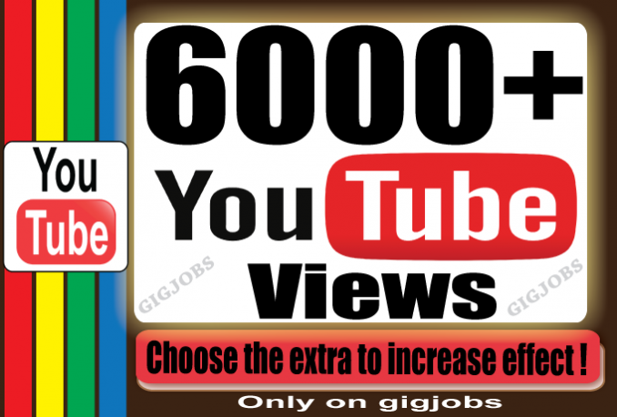 send 6000+ YouTube Views for your Video