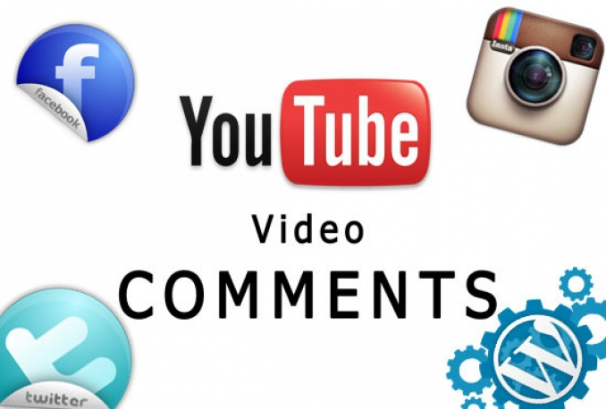 post 30 comments for your YouTube video
