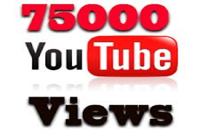 give your YouTube Video Over 7500 Unique Human Views Guaranteed within 4 Days
