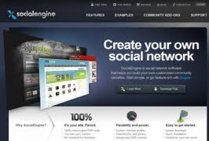Sell Social Engine 4.7.0 Full version Licence