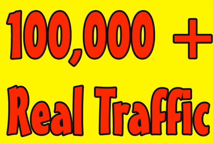 Give You 100,000+Real Human Visitors to your site.