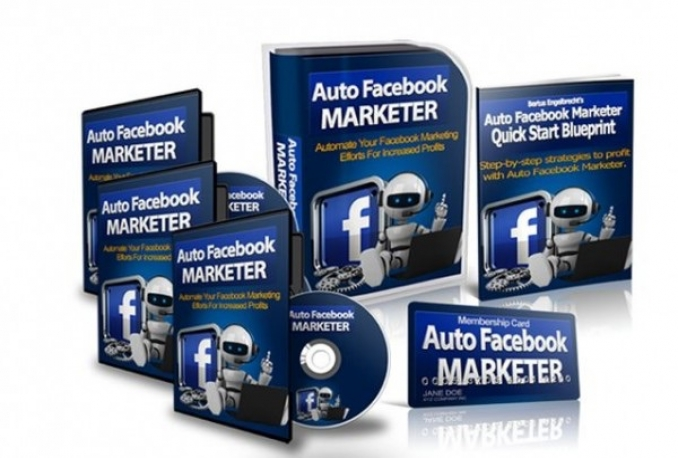 Sell Auto FB Marketer 3-02 full version licentie