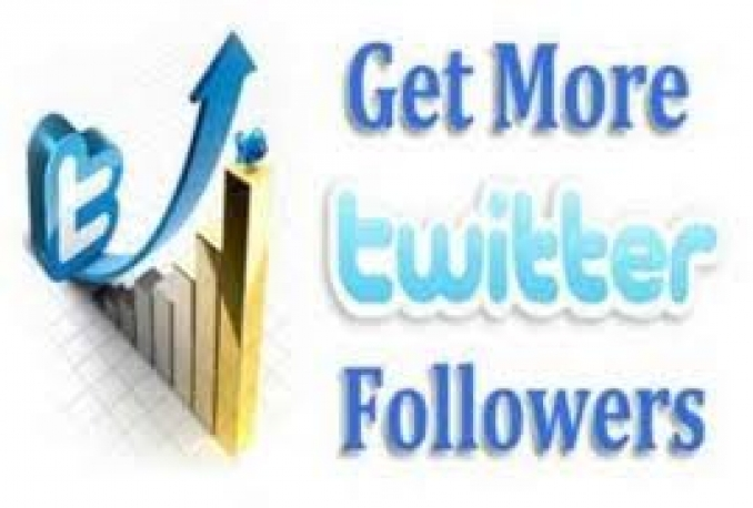 Give you (NEVER DROPED) real and genuine 50000 Twitter followers