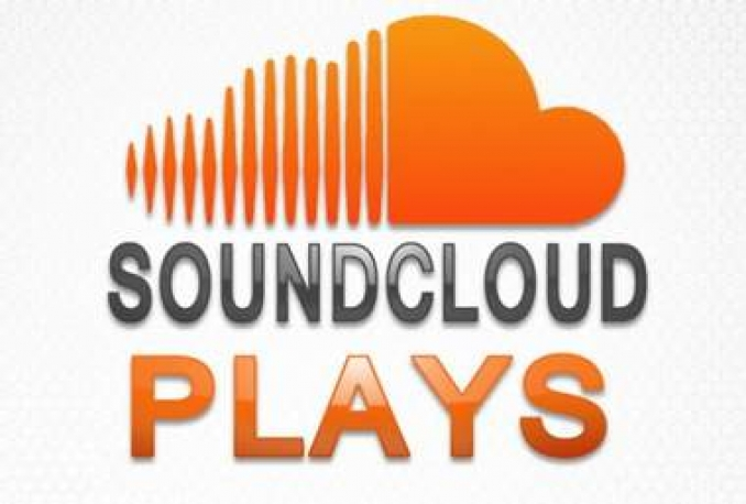 Give you Awesome 5000 plays, Soundcloud Pack-100 Repost Or 60 Comments 200 Likes Or 200 Followers