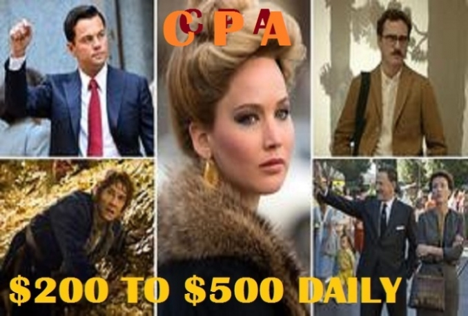teach You How to Make up 200 to 500 Dollars Daily From CPA