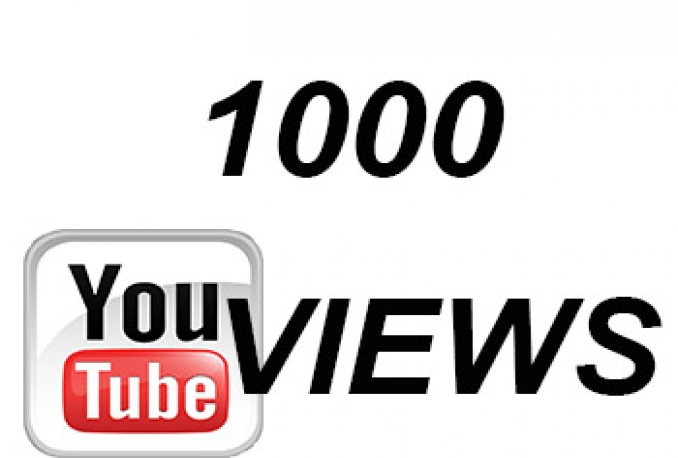 give you 1000 High Retention YouTube Views to get your video seen