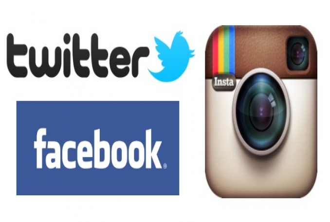 Provide 2500 USA Twitter Follower OR 2000 Instagram Follower or Like OR 2000 Facebook Post Like