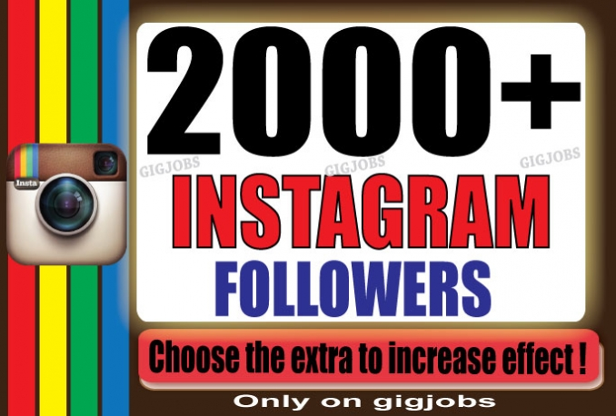 Instantly Add 2000 HQ Instagram Followers