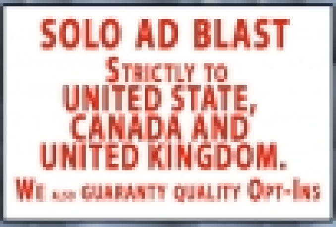 send Viral SOLO Ad 500Million To Usa,Ca Uk And Get You Sale Leads within 24hours