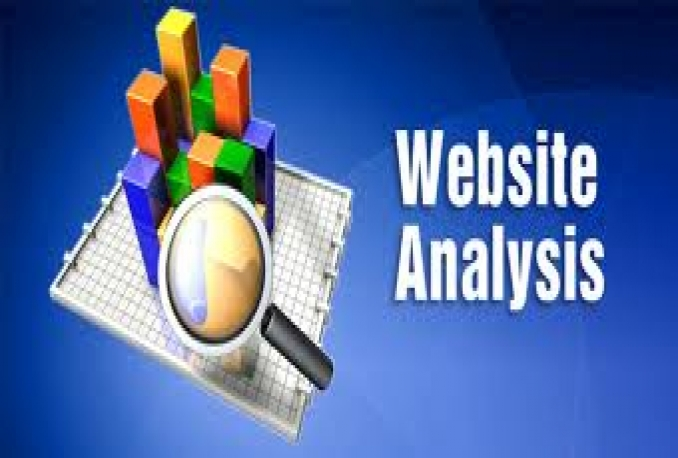 do SEO audit analysis of your website and prepare a suggestions report