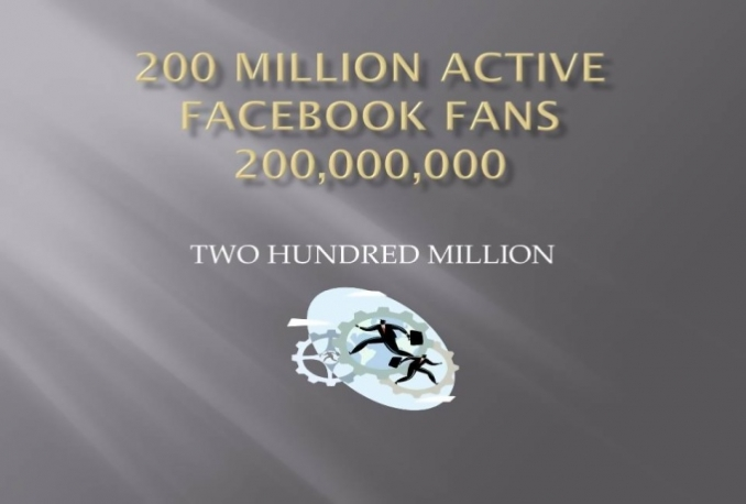 promote Website among 20 Million Facebook Members