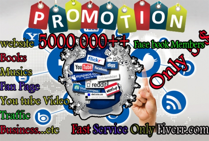 promote your website among 5 million