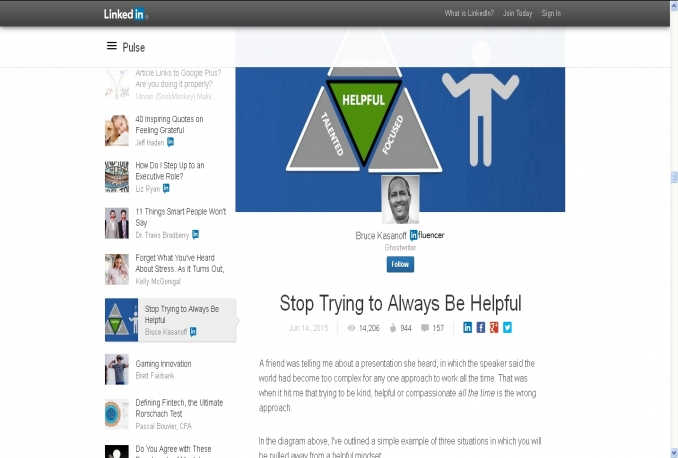 deliver 10000 Real LinkedIN Article Views
