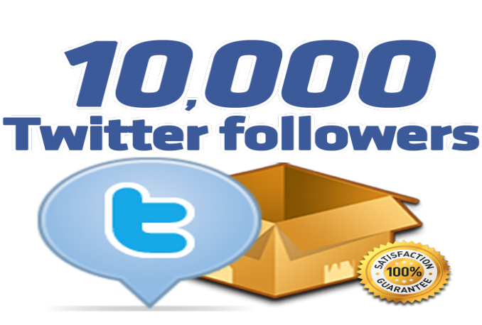 deliver 10 000 stable twitter followers very good quality