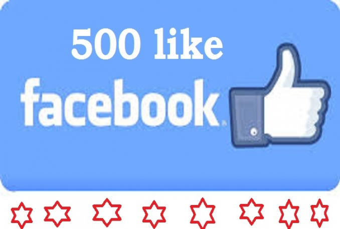 Provide 500 worldwide Facebook Likes boost your social marketing