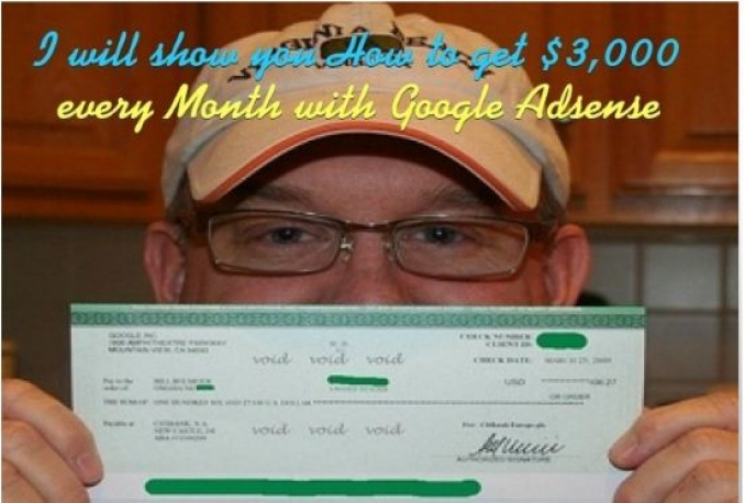 teach you how to Make over 3,000 dollars every Month with Adsense