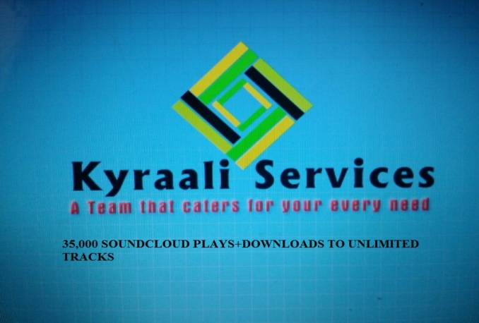 WILL GIVE YOU 35,000 SOUNDCLOUD PLAYS+DOWNLOADS TO UNLIMITED TRACKS OF YOUR CHOICE
