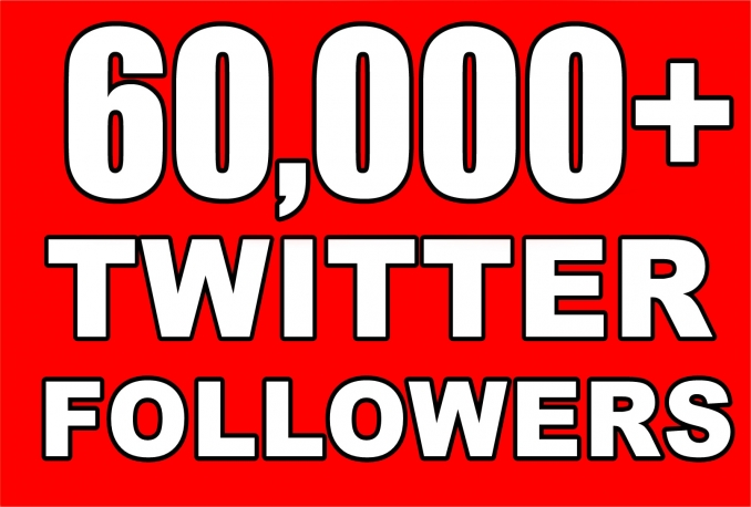 Gives you 60,000+Guaranteed NON Drop  Followers.