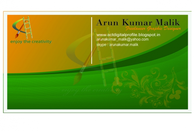 design Fully professional and graphics business card