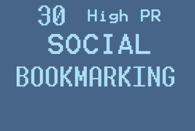 manually submit to 30 top social bookmarking sites