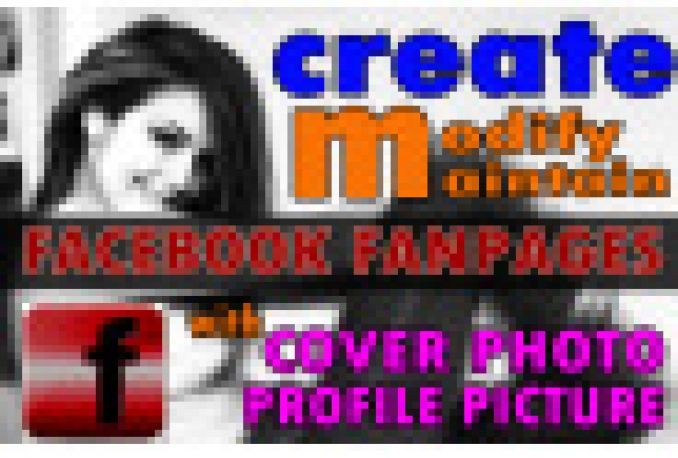 make a facebook fan page for your business or website with cover photo