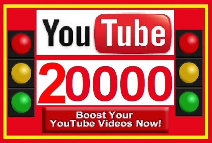 give you 10,000 Real High Retention YouTube views