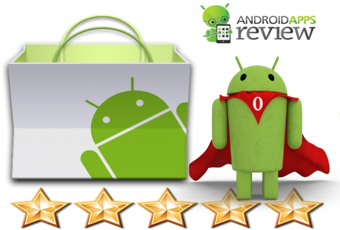 5 star your Android app and review