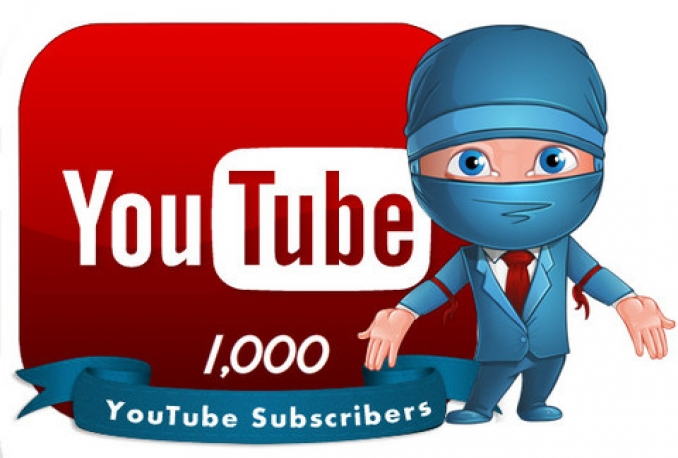 1000+ RealActive YouTube Subscribers within 10 hours