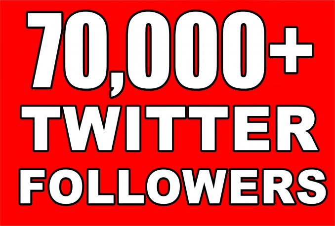 Gives you 70,000+Guaranteed NON Drop  Followers