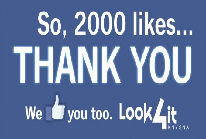 Give you 100% Real Non Drop 2000+ Fan Page Likes