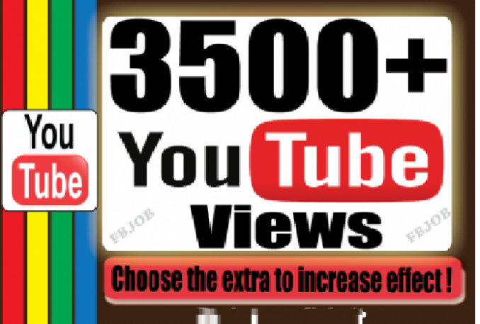 Give you High Retention 2000+ Youtube Views