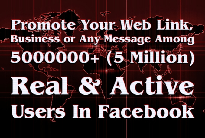 promote your Business among 5 million Facebook users