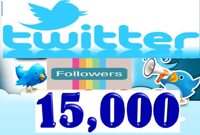 Provide 100% Highest Quality Non Drop 15,000+ Followers