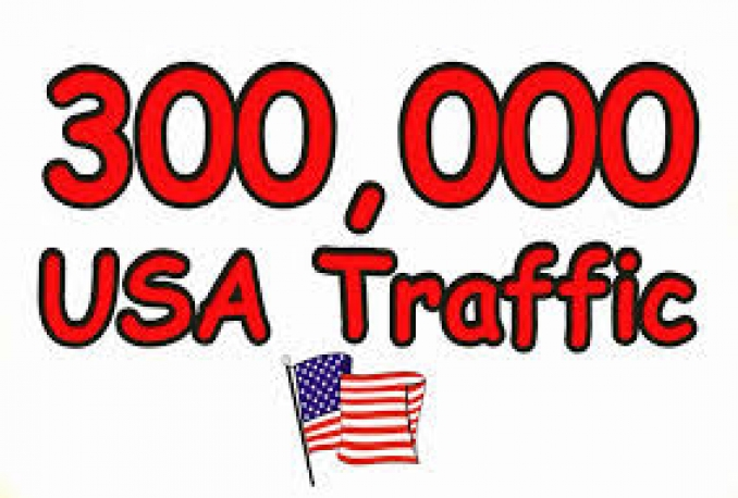Give You 300,000 USA Real/Human/Unique Visitors Safely.