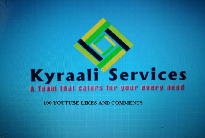GIVE YOU 100 YOUTUBE LIKES AND 5 YOUTUBE COMMENTS