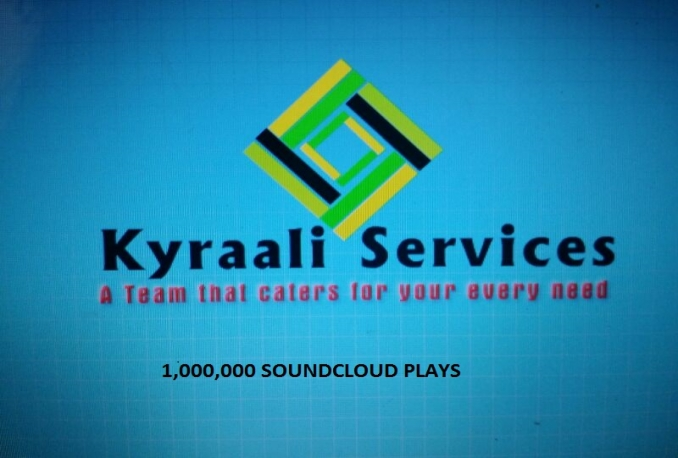 GIVE YOU 1,000,000 EXPRESS SOUNDCLOUD PLAYS TO UNLIMITED TRACKS OF YOUR CHOICE