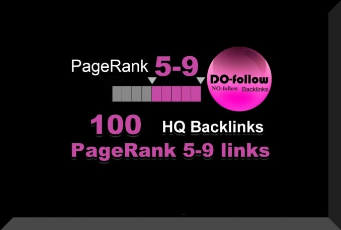 do 100 backlinks on PR9 to PR5 domains