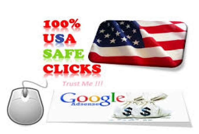 provide 200 genuine human click USA, Different IP in adsense with 10,000+ imprission  by Multiple ads Campaign