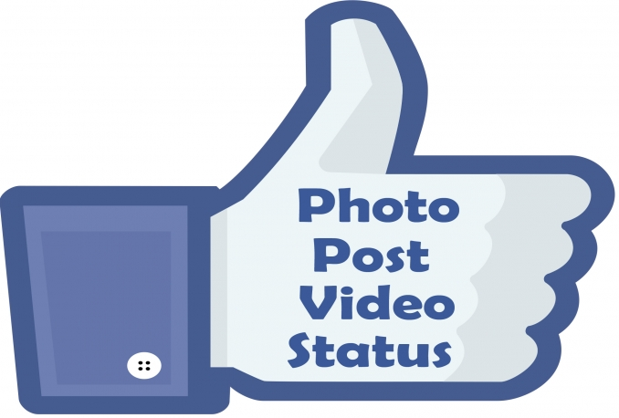 Provide 2500 Facebook Post/Photo/Status Like to your company or personal page