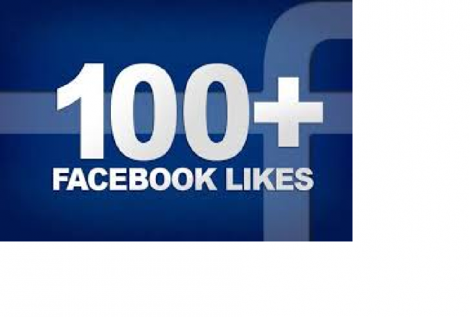 Provide 100 facebook Fan Page like within 2 hours