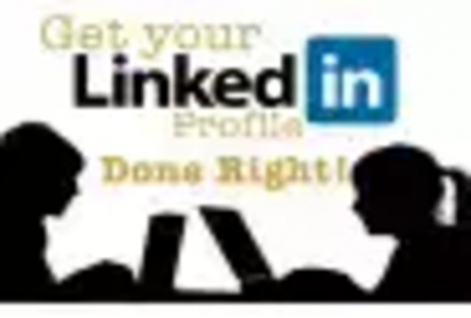 write or review your LinkedIn Profile, resume job descriptions get NOTICED