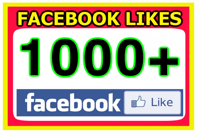 add 1000+ Facebook Fan Page Likes To Improve your Social media Signals and SEO